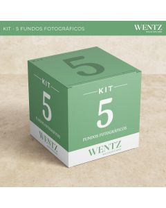 Kit 5 Fundos Fotográficos Wentz | KIT-5